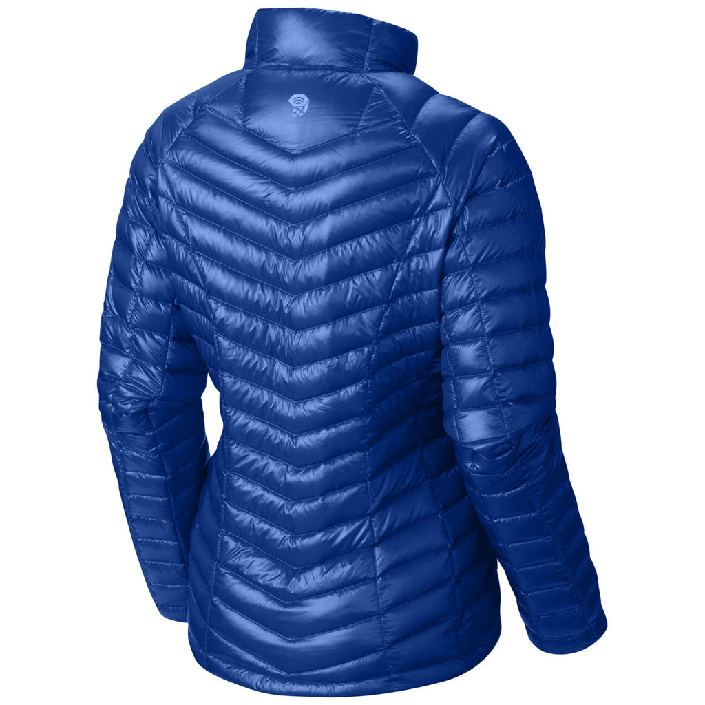 Mountain Hardwear Women's Bright Island Blue Ghost Whisperer Down Jacket