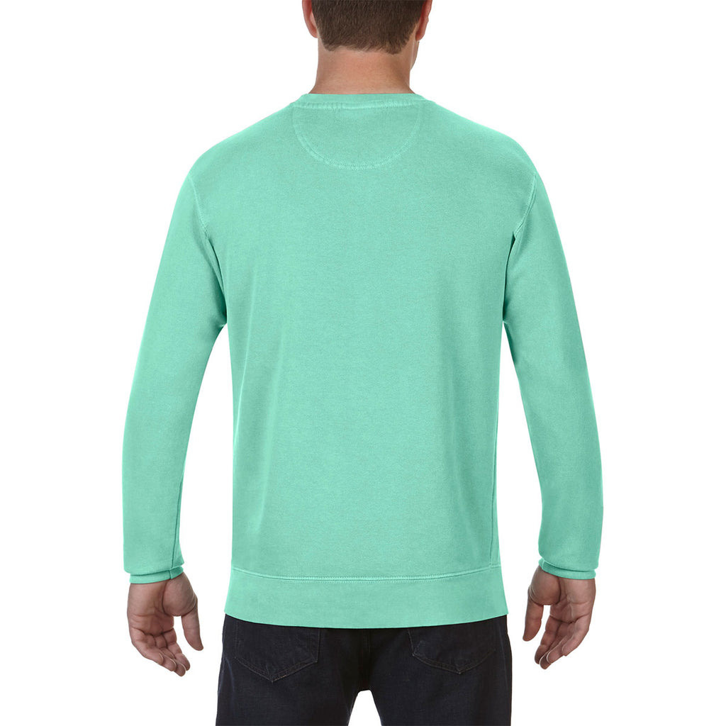 Comfort Colors Men S Island Reef 9 5 Oz Crewneck Sweatshirt