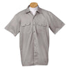 dickies-grey-short-sleeve-shirt