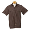 dickies-brown-short-sleeve-shirt