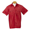dickies-red-short-sleeve-shirt