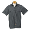dickies-charcoal-short-sleeve-shirt