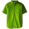 columbia-green-short-sleeve-shirt