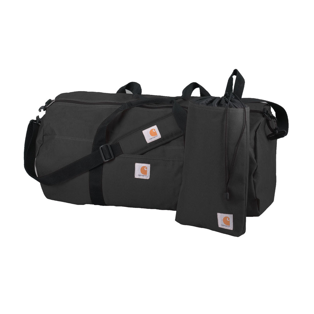 Carhartt Black Trade Series Large Duffel & Utility Pouch