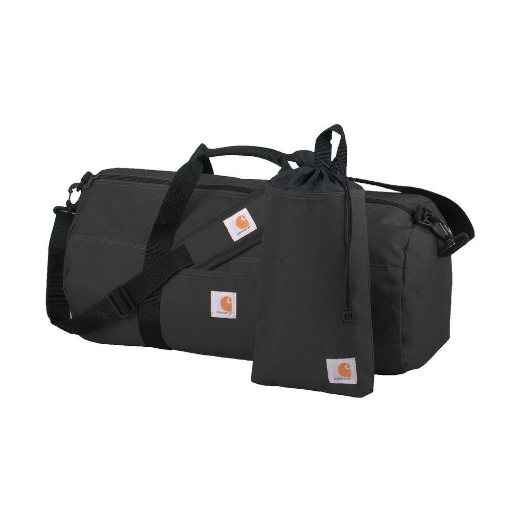 Carhartt Black Trade Series Medium Duffel & Utility Pouch