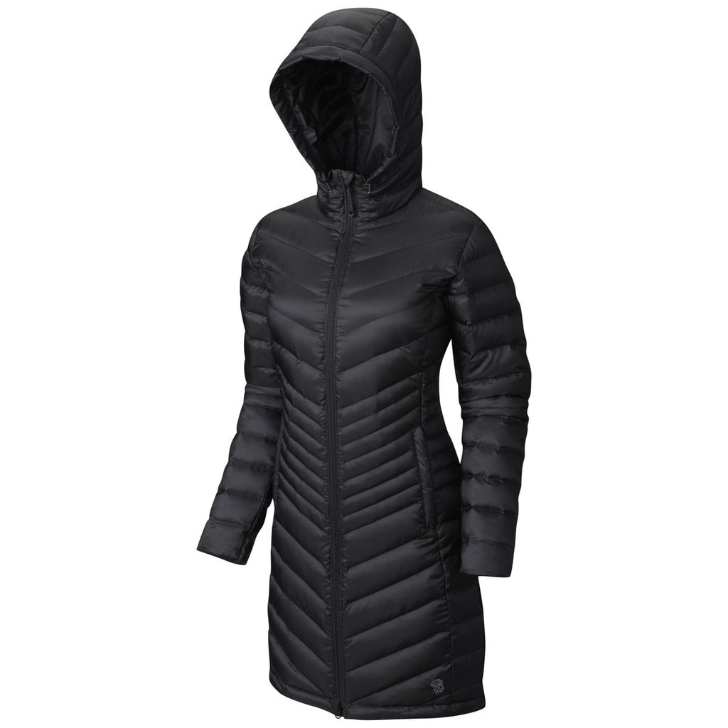 Mountain Hardwear Women's Black Nitrous Hooded Down Parka