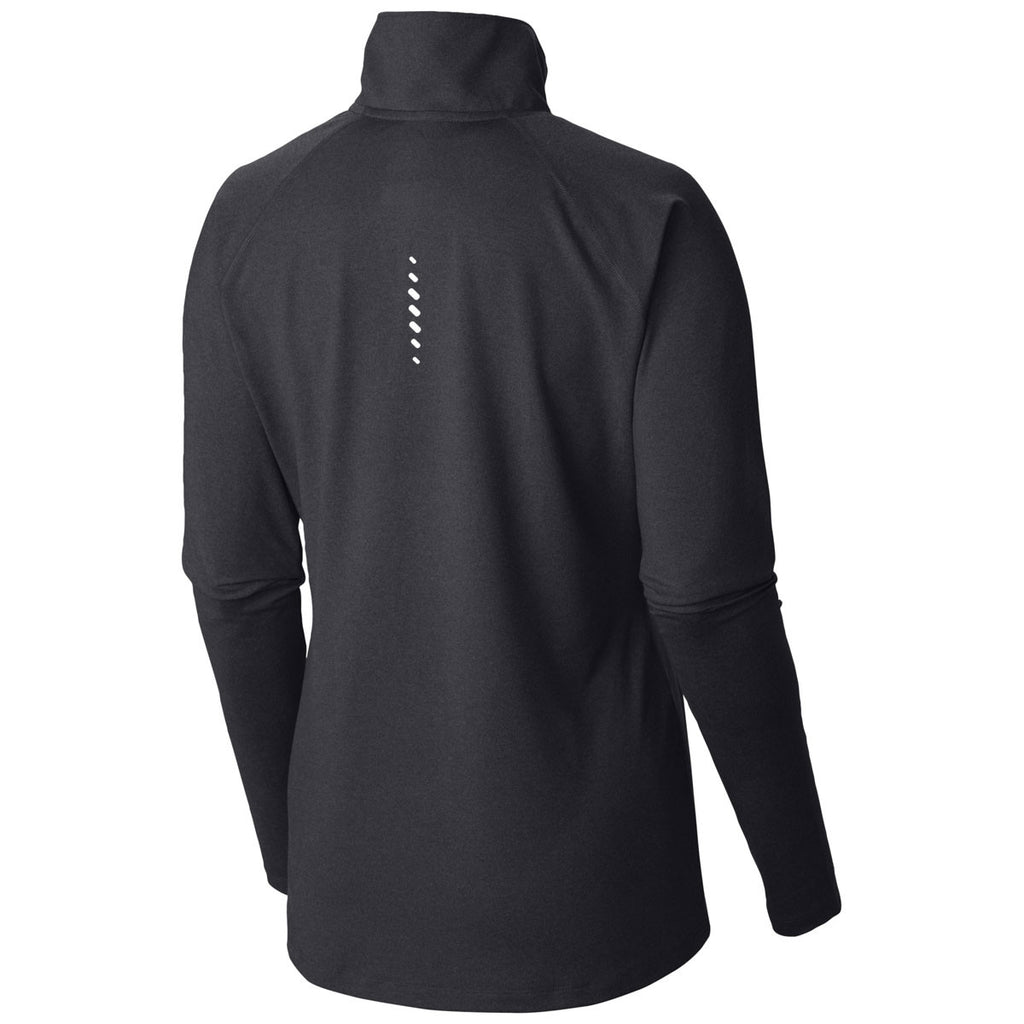 Columbia Women's Black Heather Summit Half-Zip Pullover