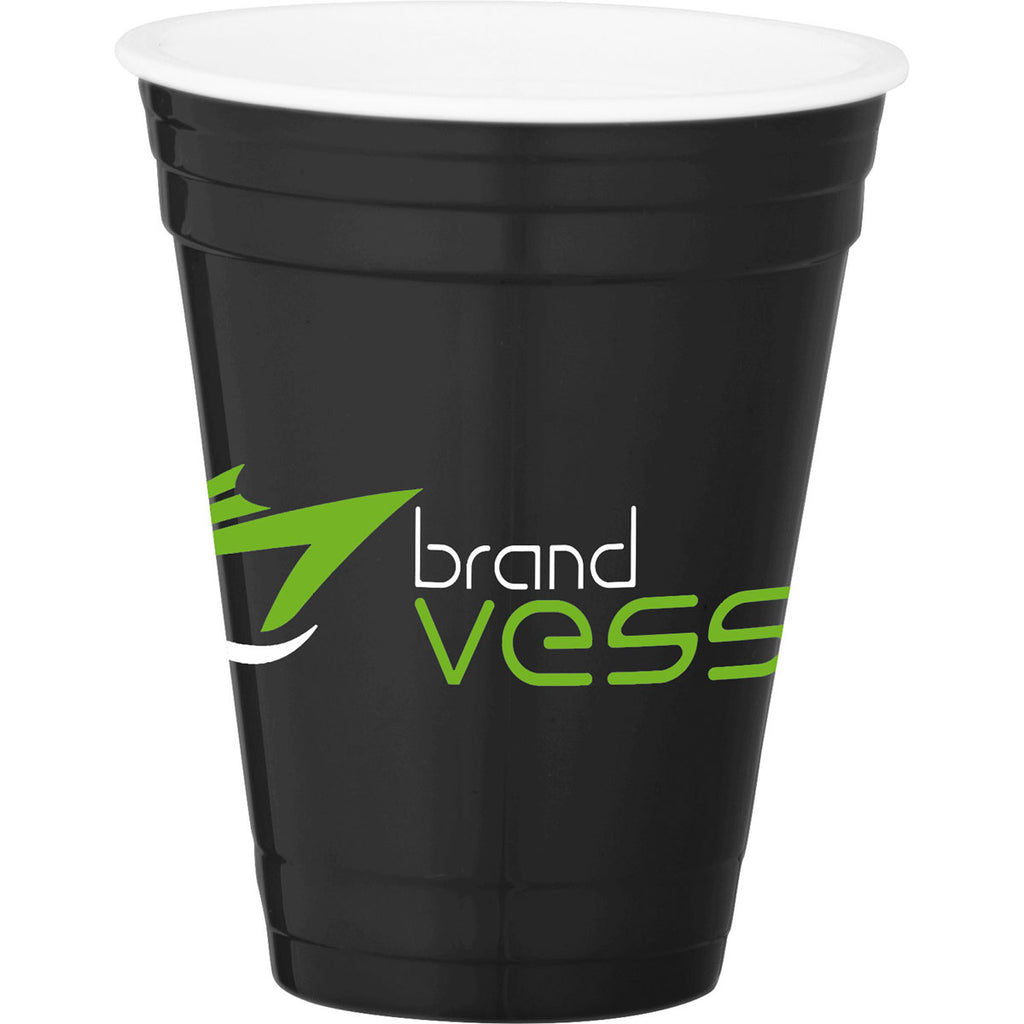 Leeds Black Game Day Event Cup 16oz