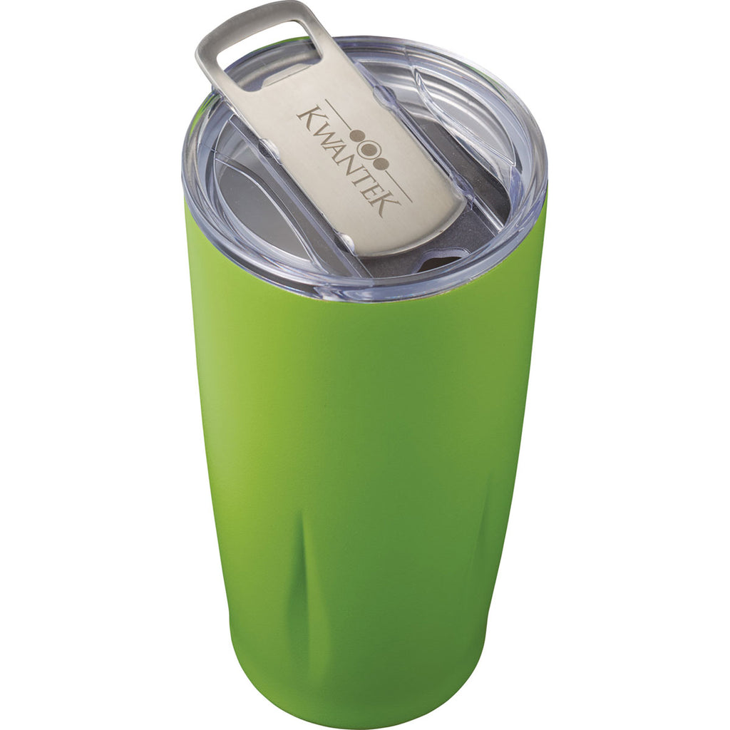 Leed's Lime Victor Copper Vacuum Tumbler with Opener 24oz