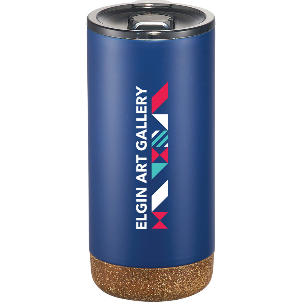 Leeds Navy Valhalla Copper Vacuum Tumbler with Cork 16oz