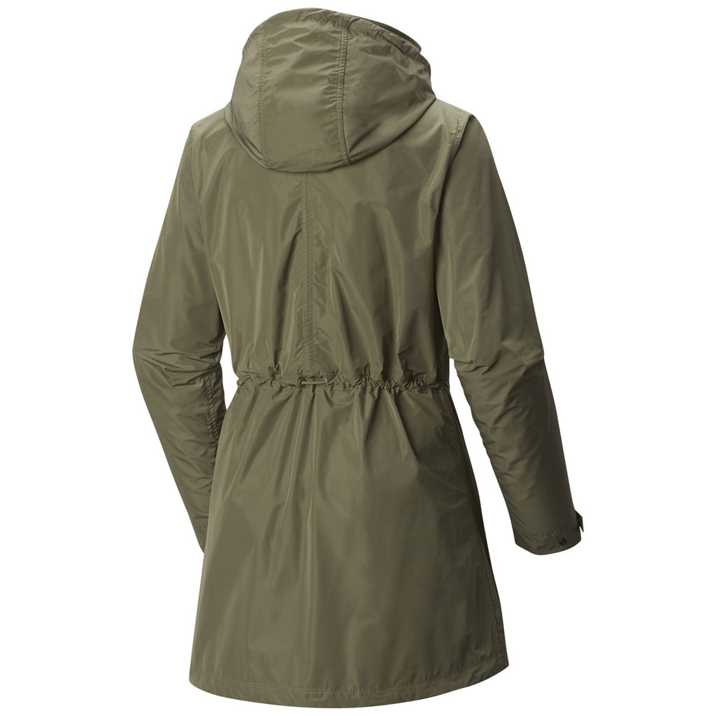 Mountain Hardwear Women's Stone Green Urbanite Parka