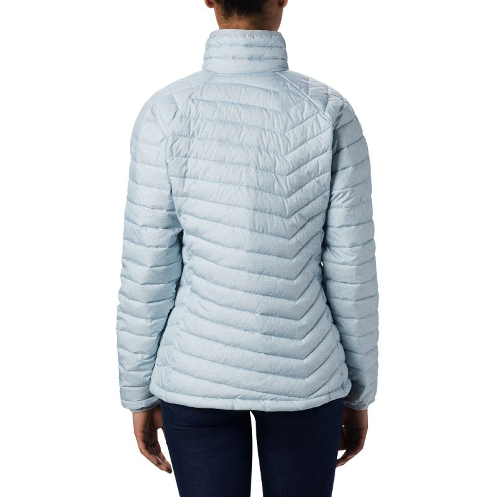 Columbia Women's Cirrus Grey Sparkler Print Powder Lite Jacket