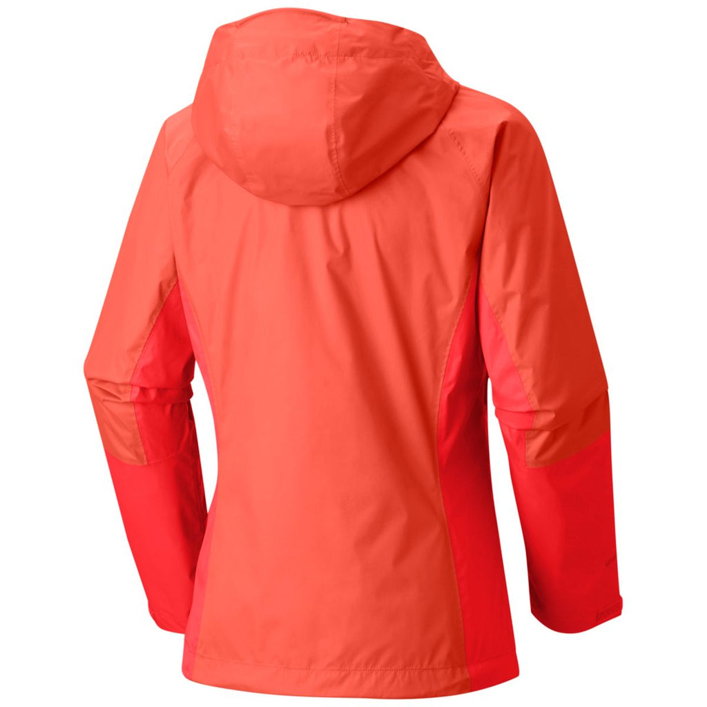 Mountain Hardwear Women's Bright Ember Exponent Jacket