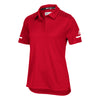 1793-adidas-women-red-polo