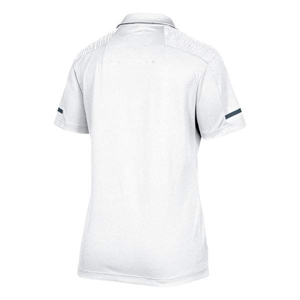 adidas Women's White/Onix Team Iconic Coaches Polo