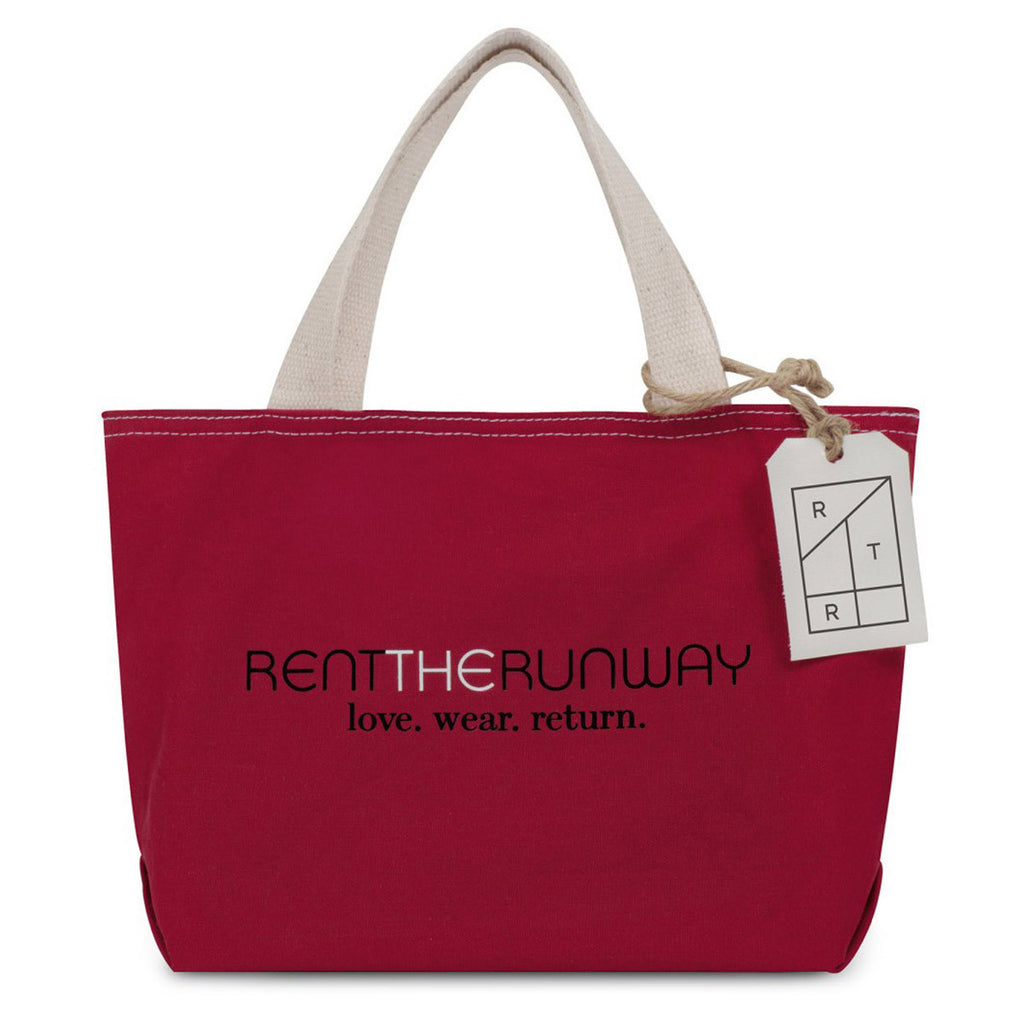 Gemline Red Cameron Cotton Mini Tote