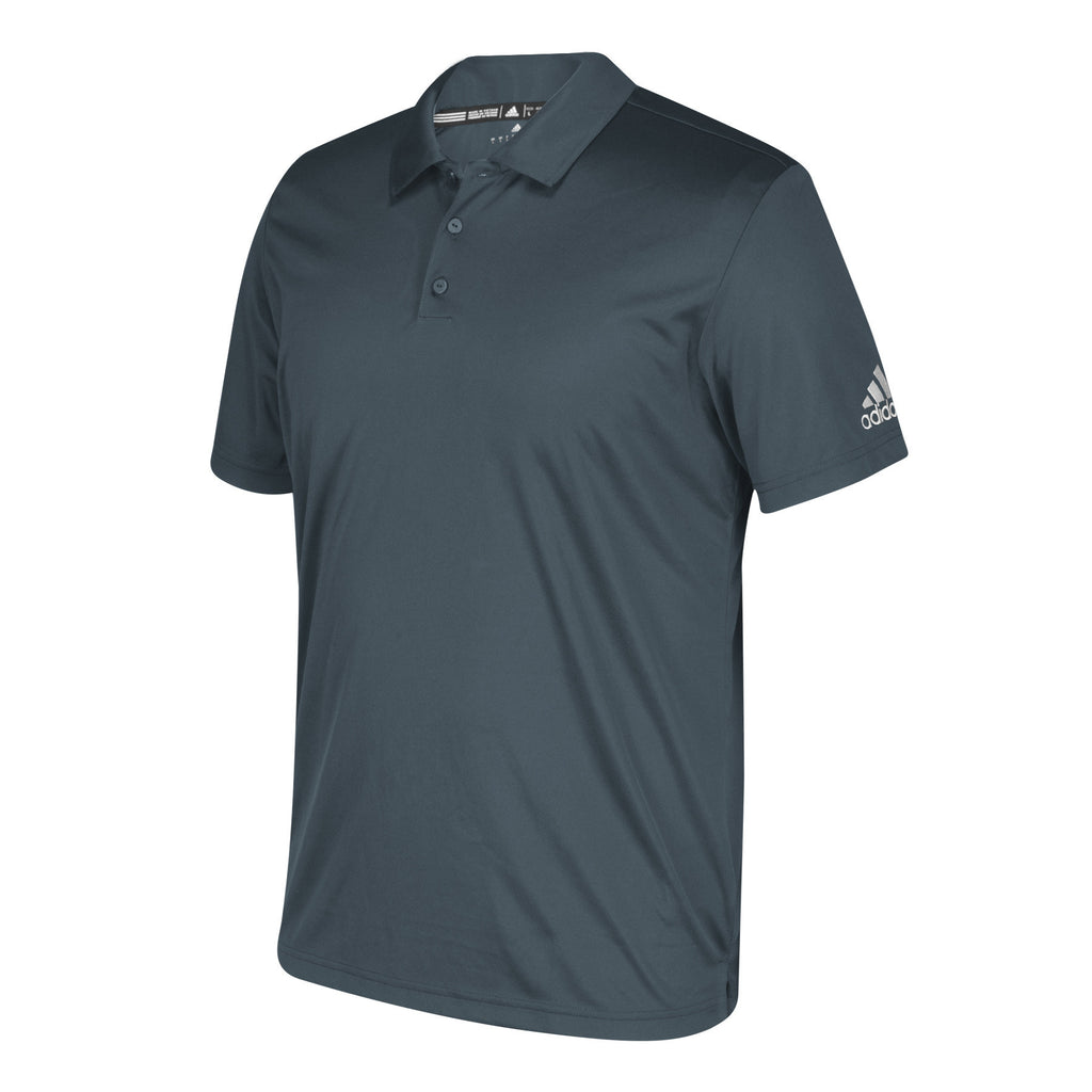 Adidas Mens Grey Grind Polo Shirt