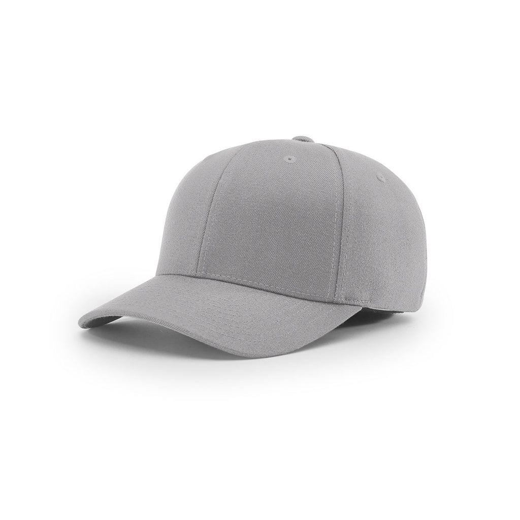 Richardson Grey On-Field Solid Twill R-Flex Cap 26873da4468