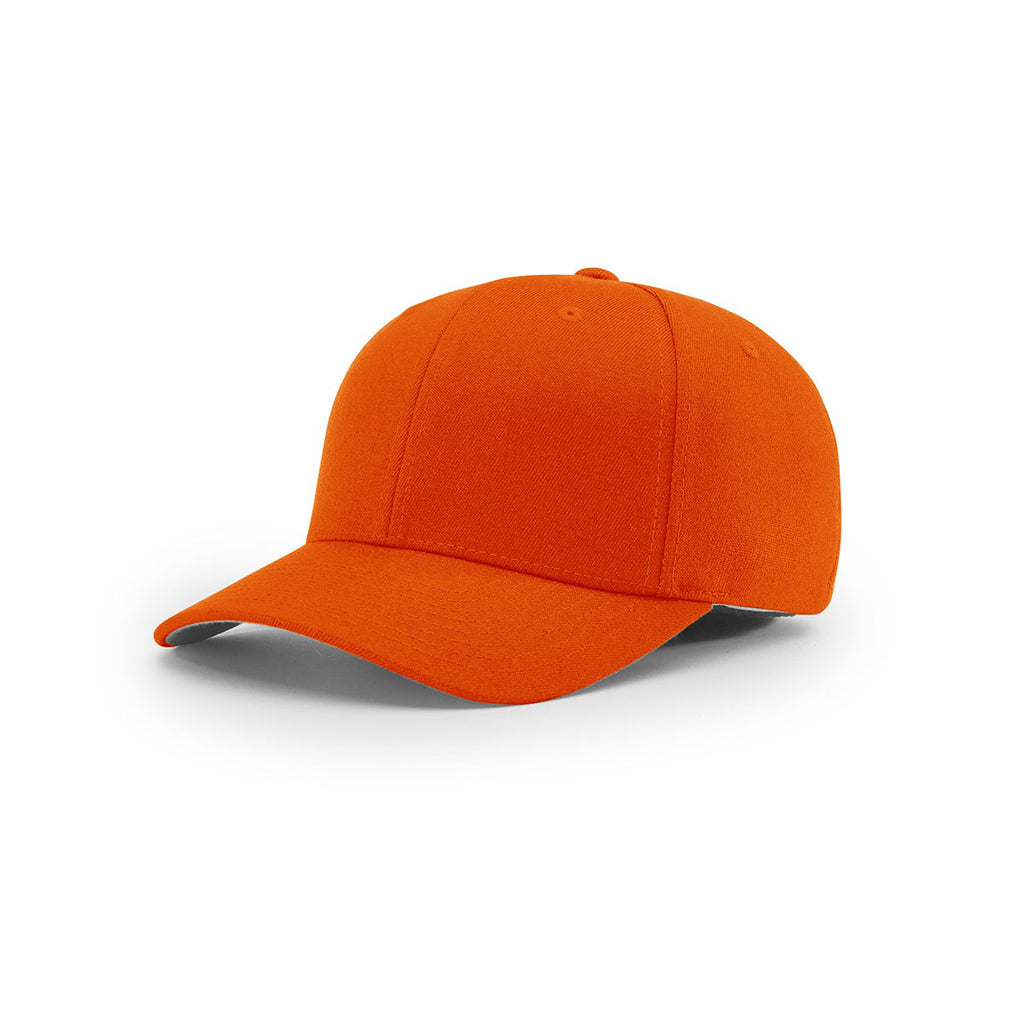 Richardson Orange On-Field Solid Twill R-Flex Cap f0cbccc7131