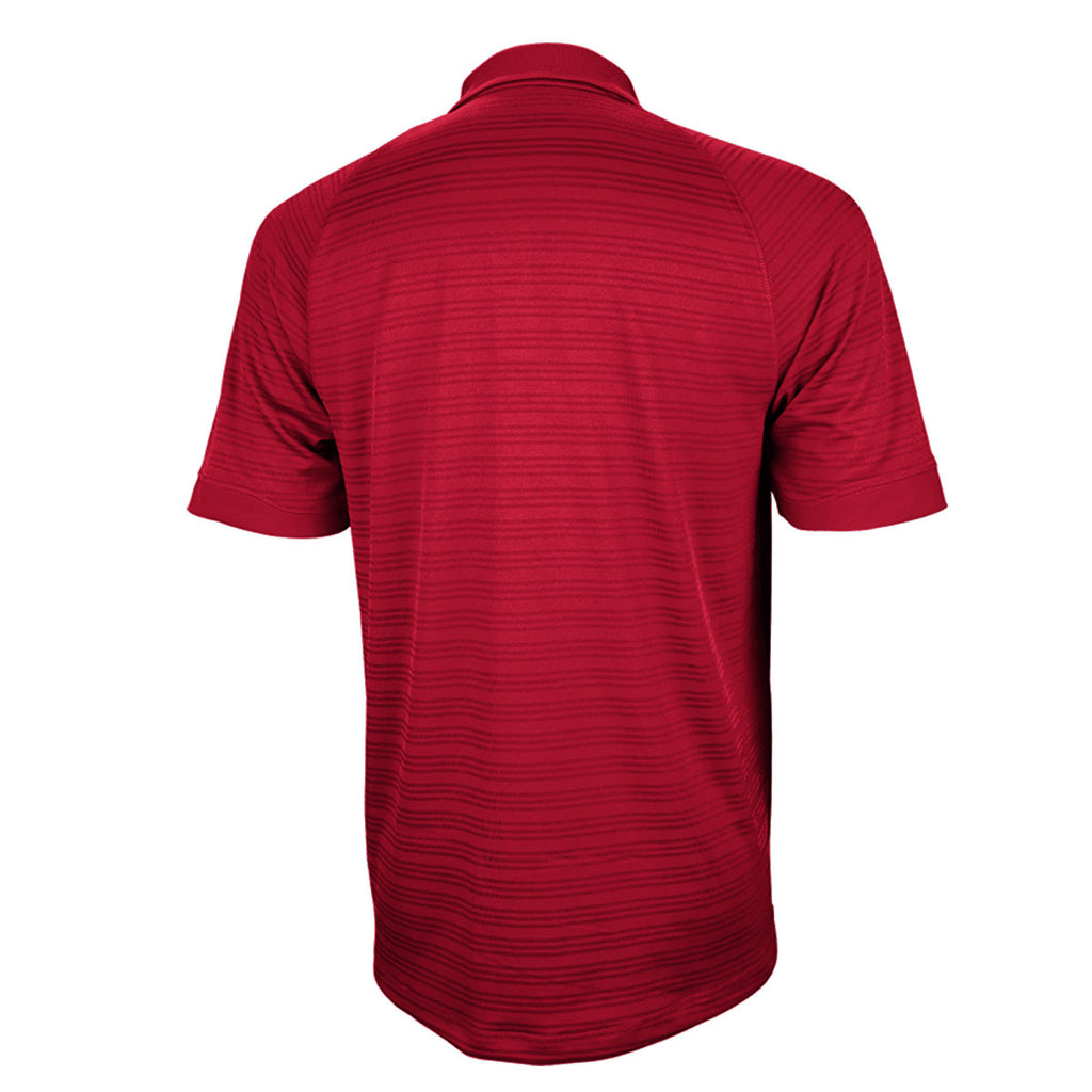 adidas Men's Red Climalite Select Polo