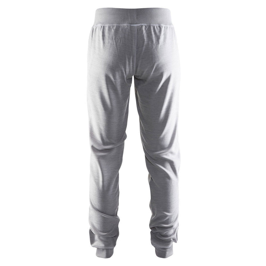 Craft Sports Women's Grey In-the-Zone Sweatpant
