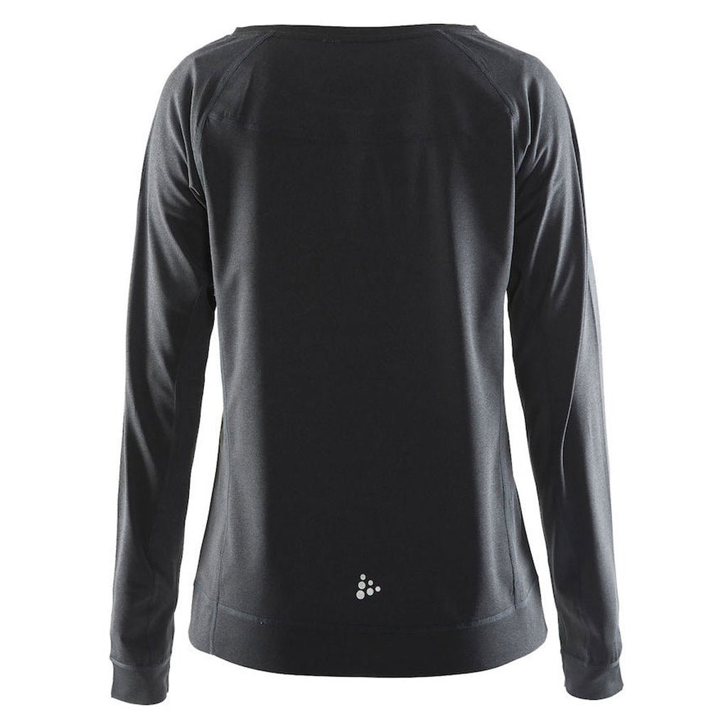 Craft Sports Women's Black/Silver Pure Light Sweatshirt