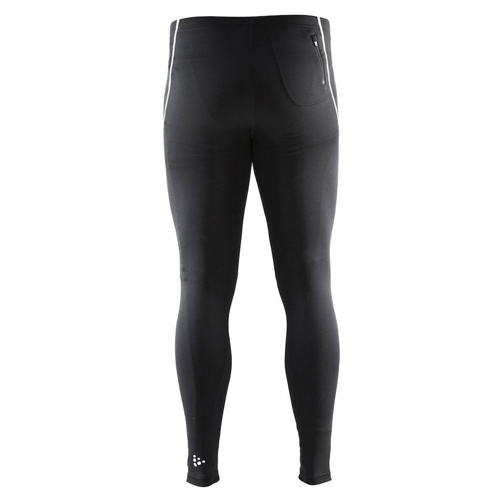 Craft Sports Men's Black/Platinum Mind Tights