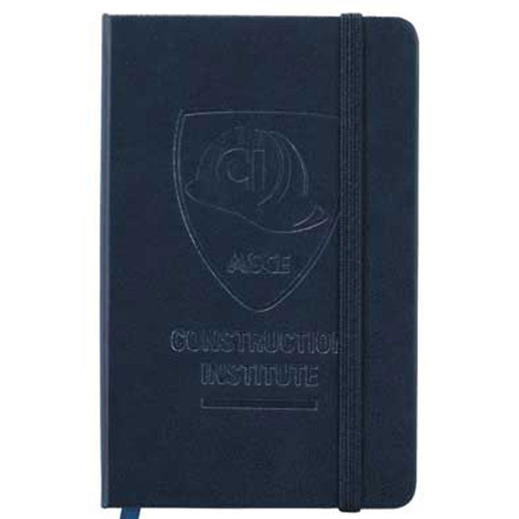 JournalBook Navy Ambassador Pocket Bound Notebook