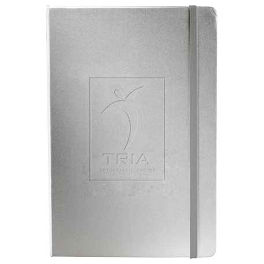 JournalBook Grey Ambassador Bound Notebook