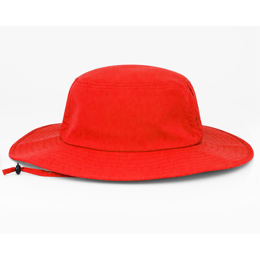 493d276ce09 Pacific Headwear Red Manta Ray Boonie Hat