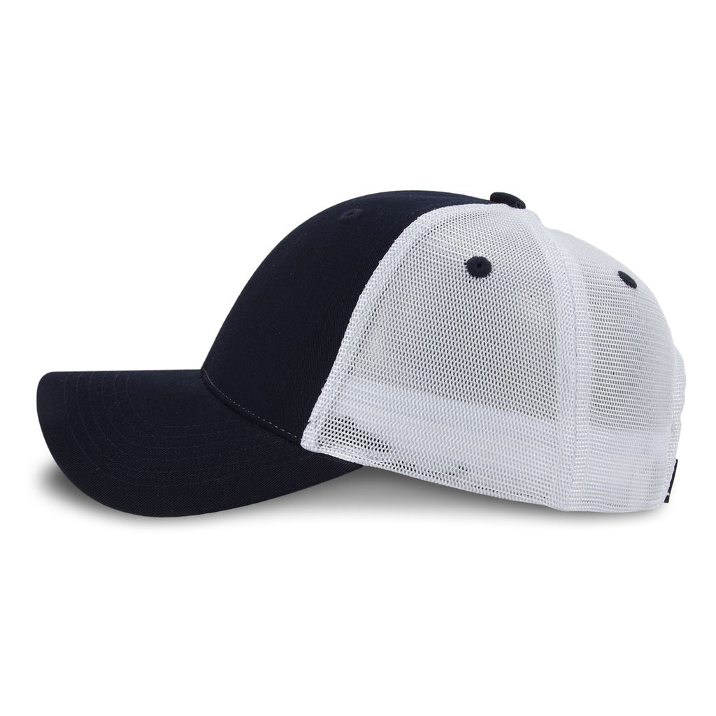 Paramount Apparel Navy/White Imperial Vintage Mesh Cap