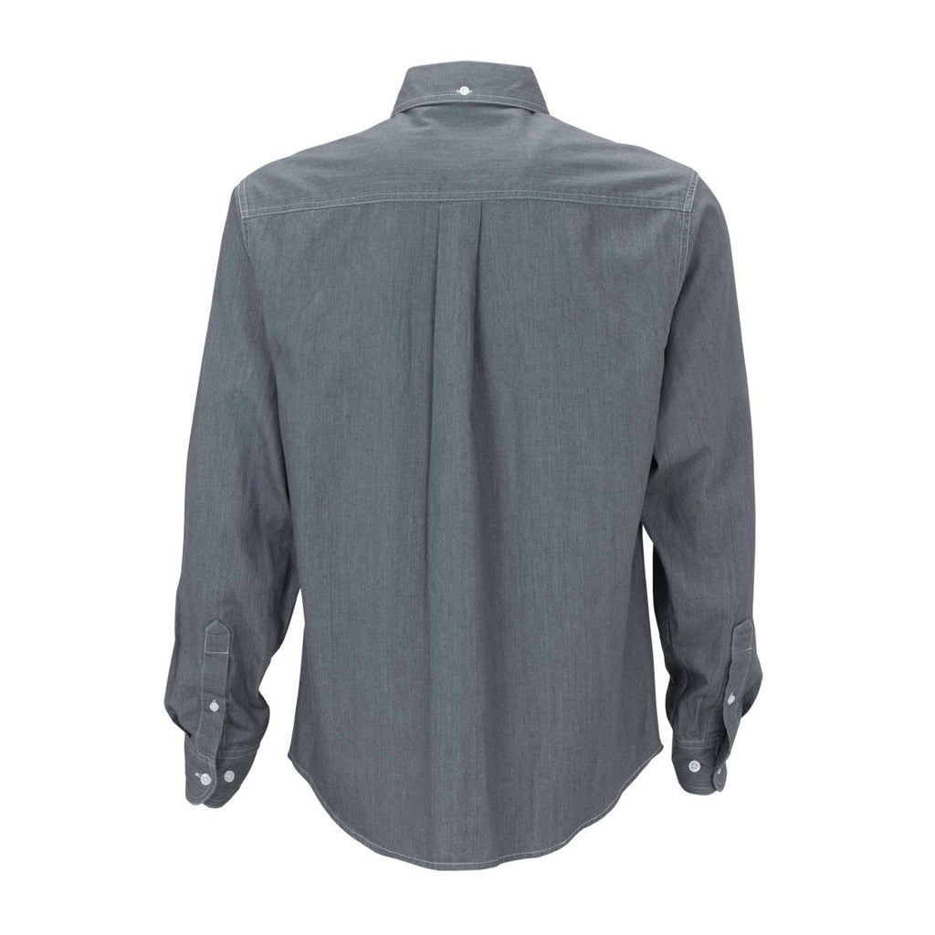 Vantage Men's Grey Hudson Denim Shirt