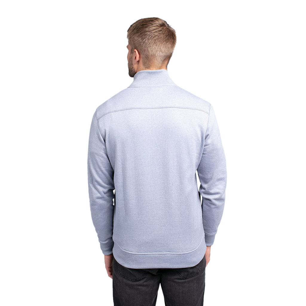 TravisMathew Men's Hideaway Heather Tradewinds Quarter Zip