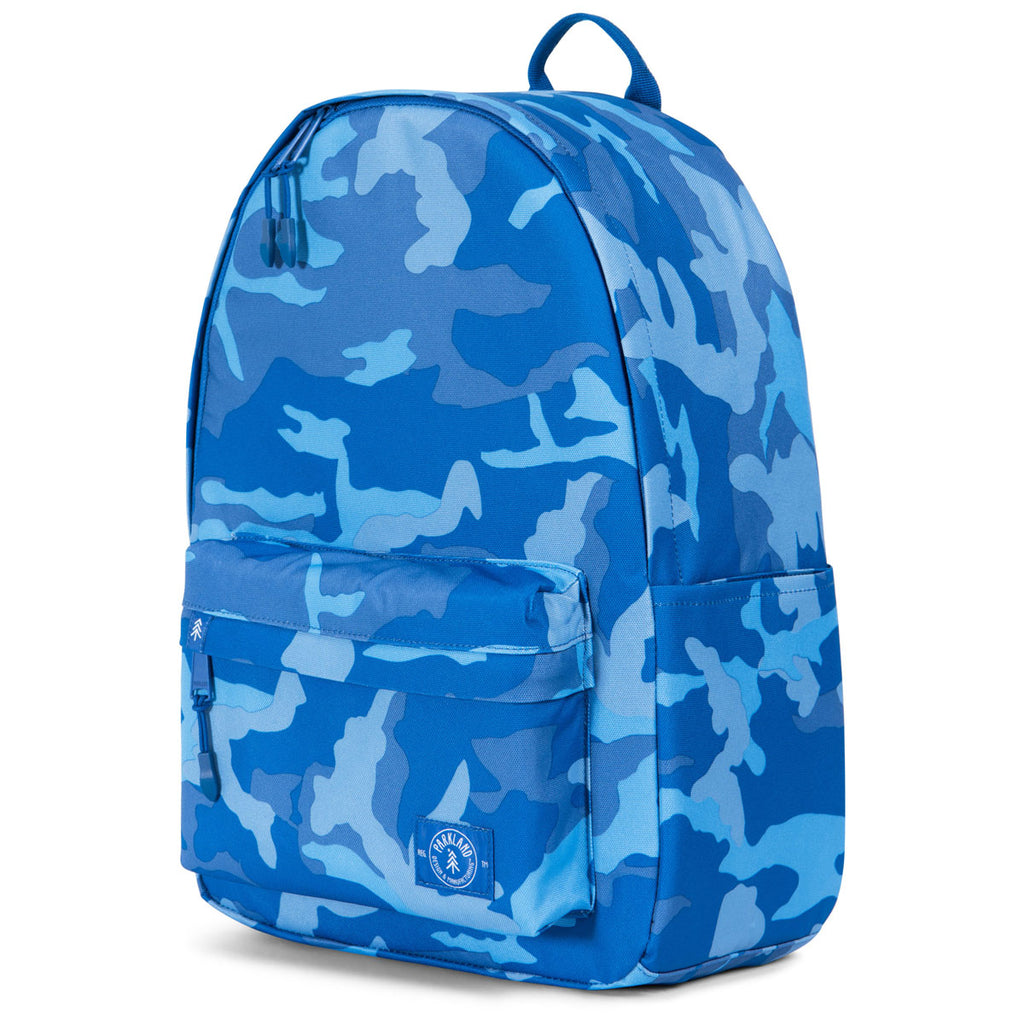 Parkland Woodland Camo Blue Vintage Backpack