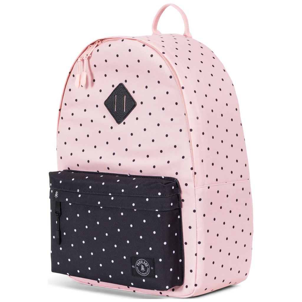 Parkland Polka Dots Quartz Meadow Backpack