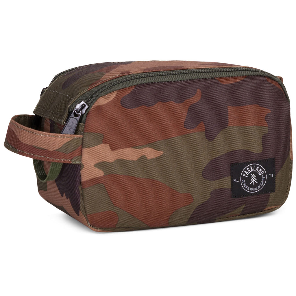 Parkland Classic Camo Valley Travel Kit