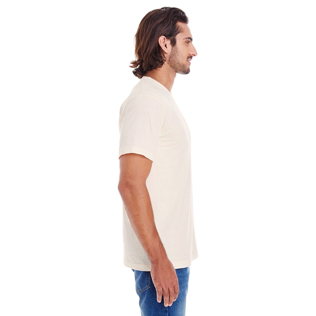 American Apparel Natural Organic Short-Sleeve Fine Jersey T-Shirt