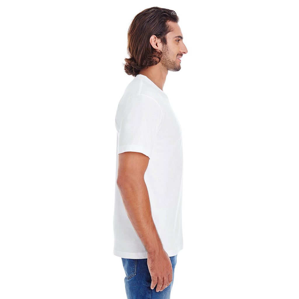 American Apparel White Organic Short-Sleeve Fine Jersey T-Shirt