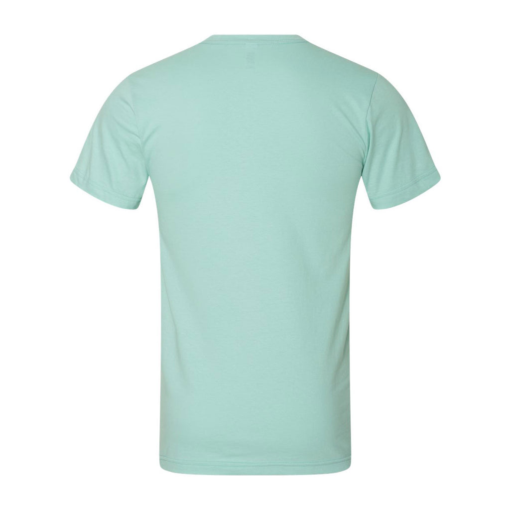American Apparel Unisex Light Aqua Fine Jersey Short Sleeve T-Shirt