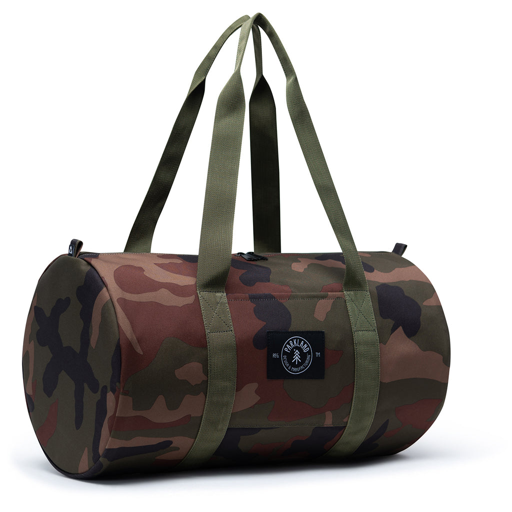 Parkland Classic Camo Lookout Small Duffel
