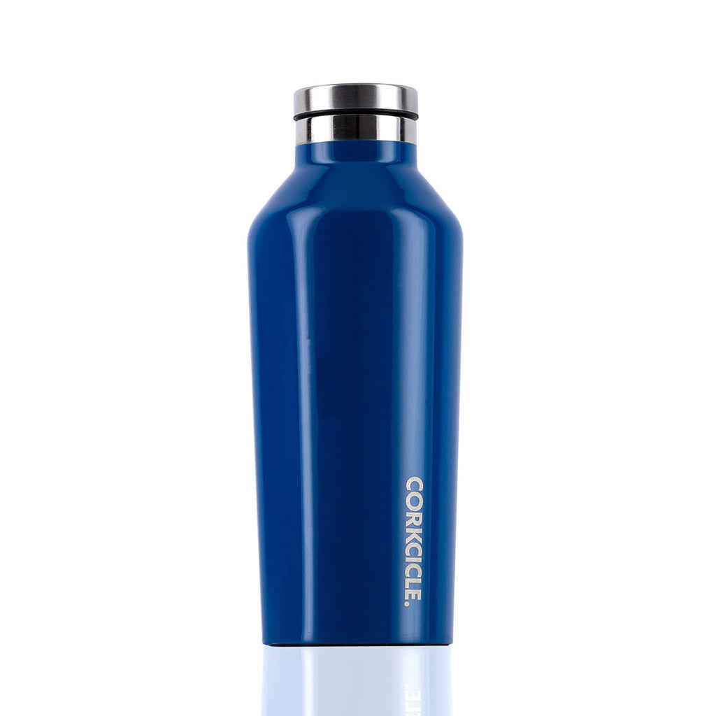 CORKCICLE. Gloss Riviera Blue Canteen 9oz