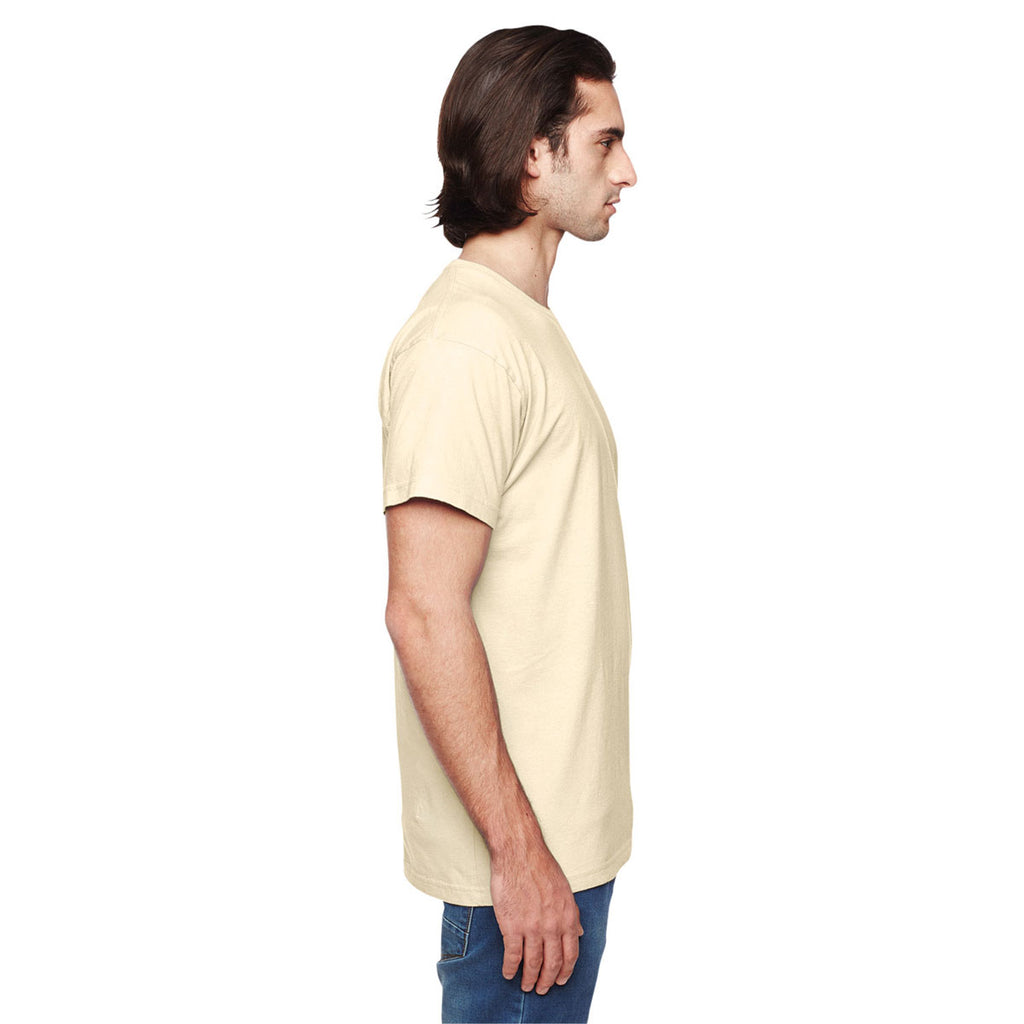 American Apparel Unisex Creme Power Washed T-Shirt