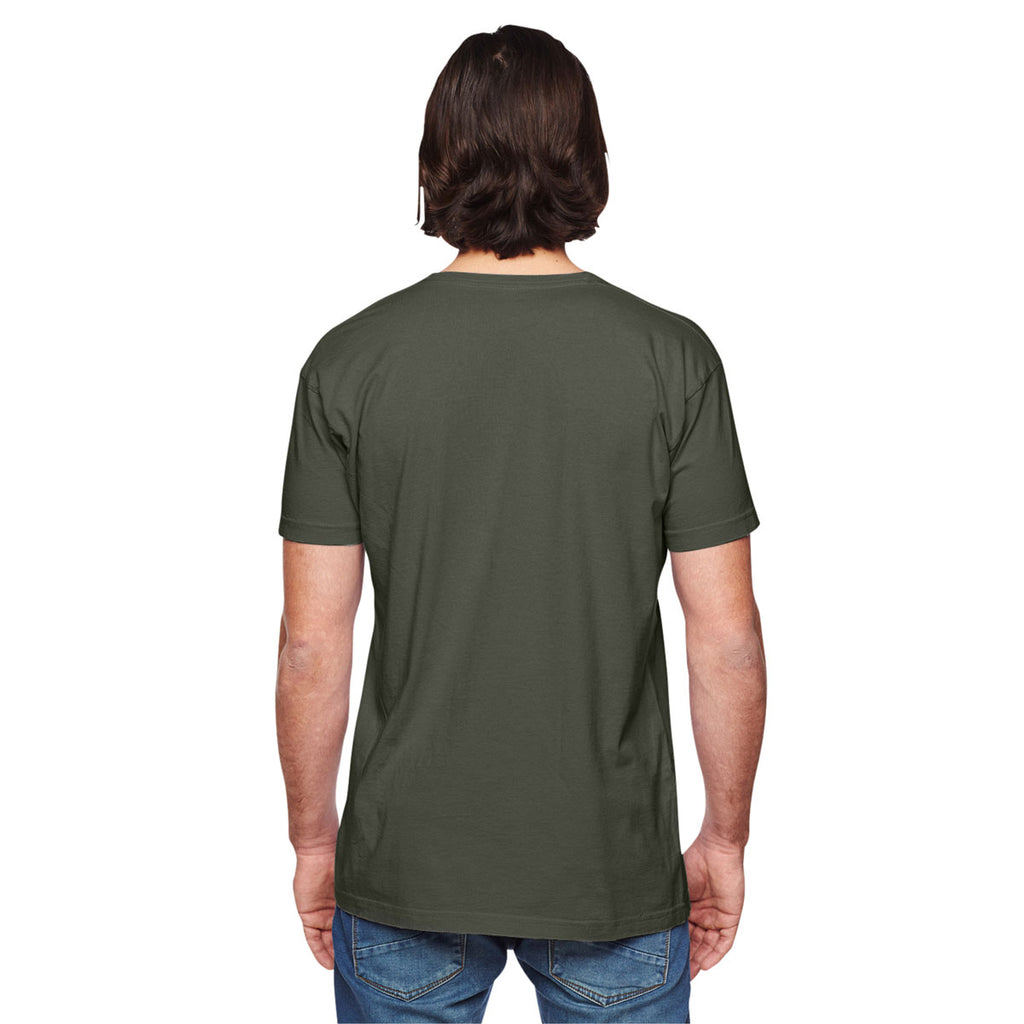 American Apparel Unisex Lieutenant Power Washed T-Shirt