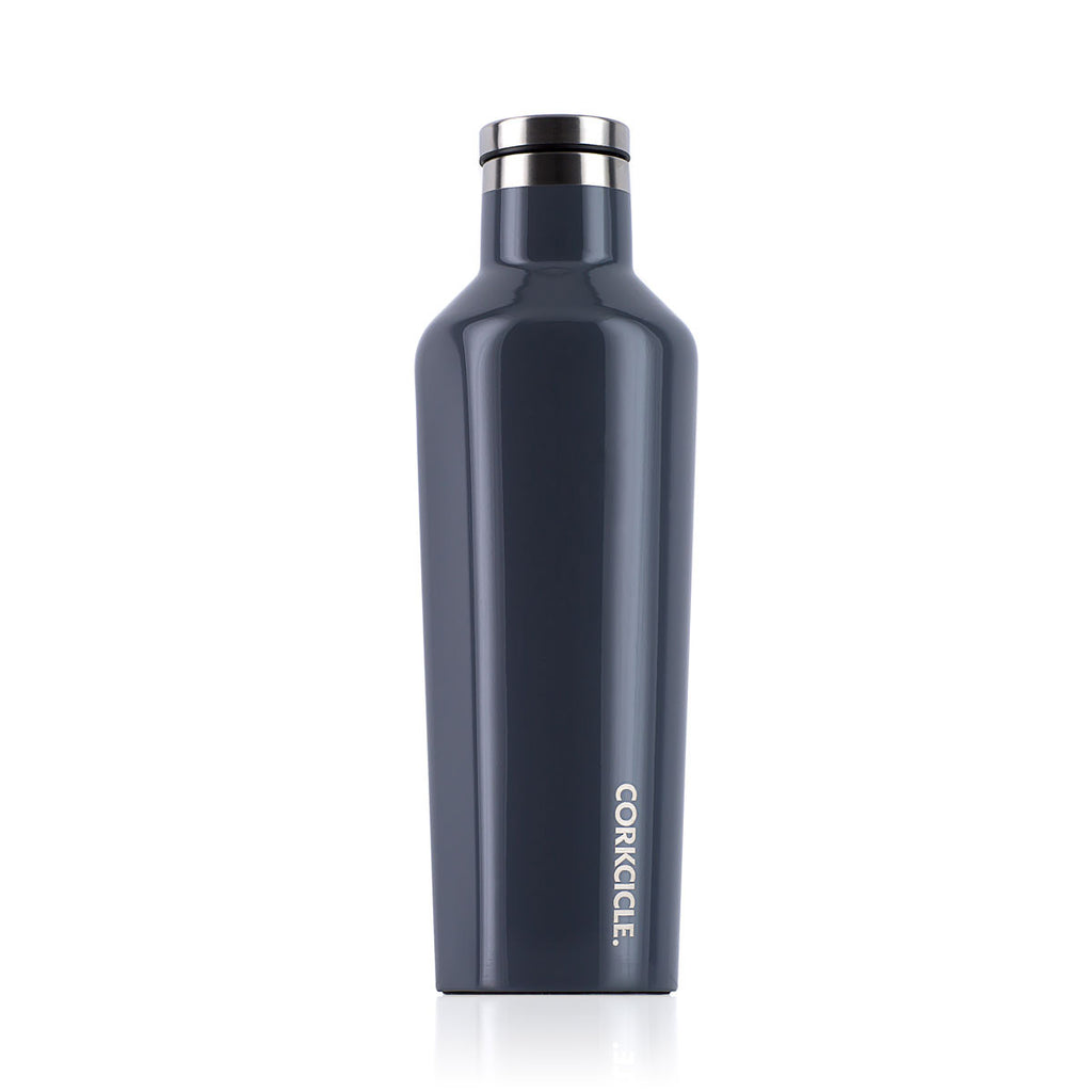 CORKCICLE. Gloss Graphite Canteen 16oz