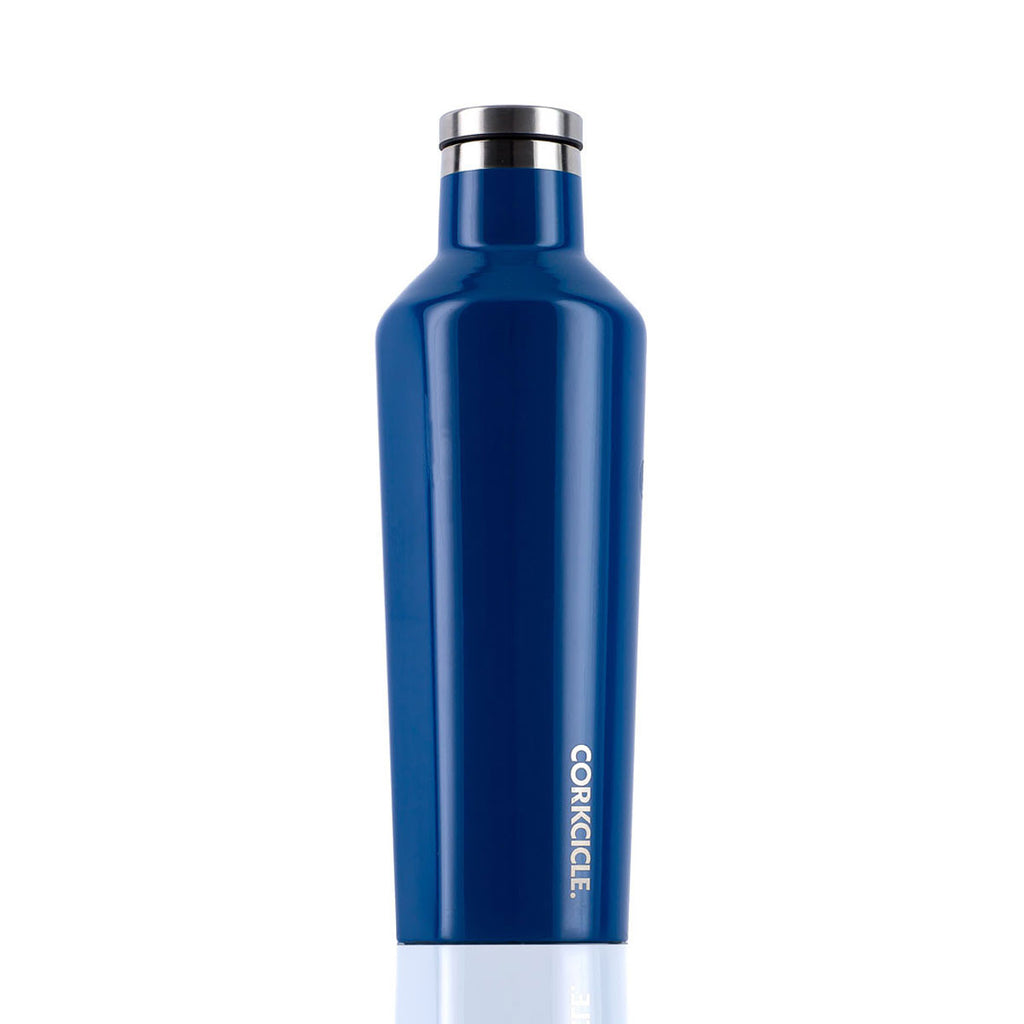CORKCICLE. Gloss Riviera Blue Canteen 16oz