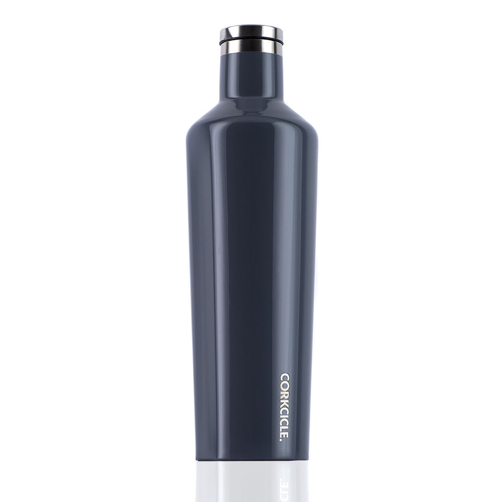 CORKCICLE. Gloss Graphite Canteen 25oz