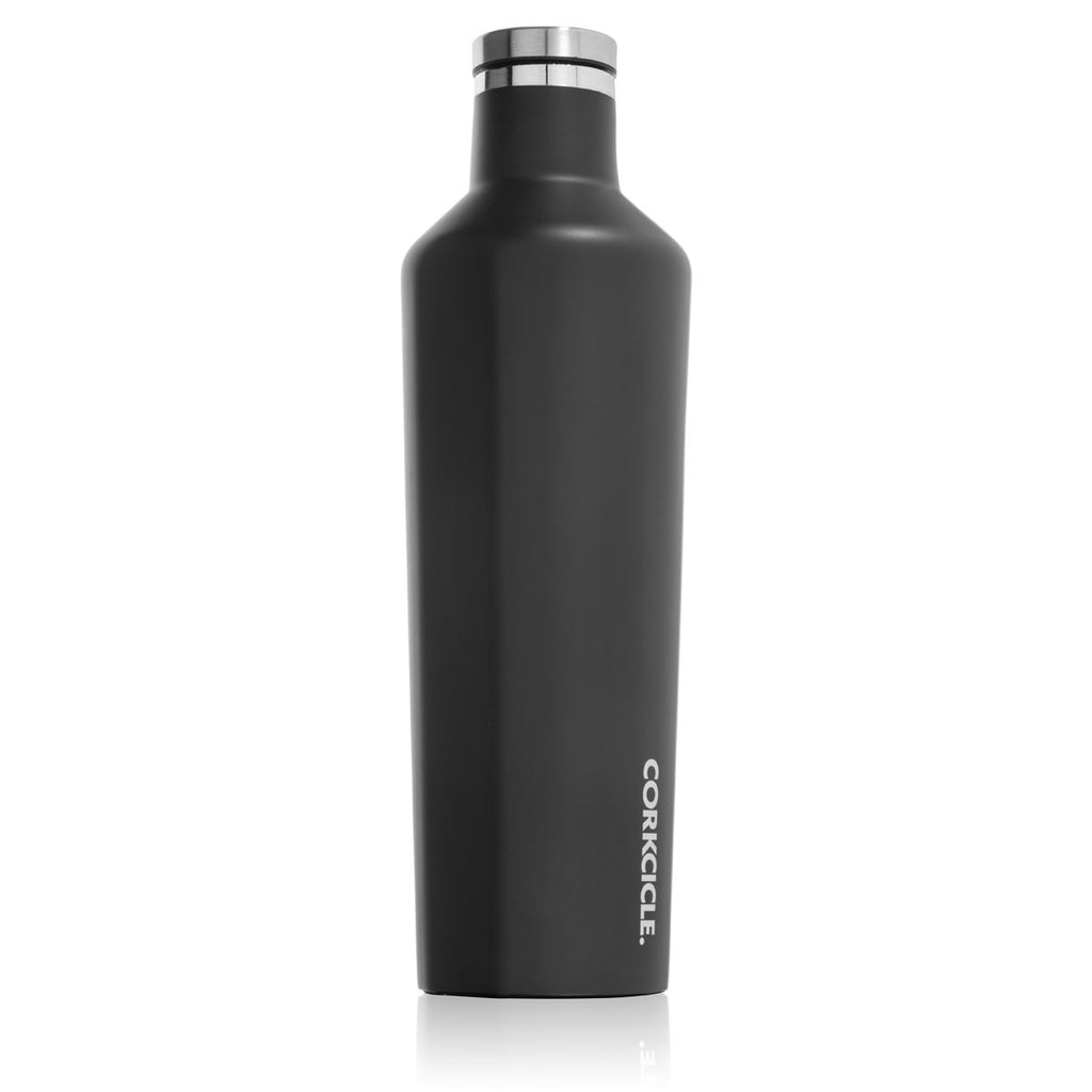 CORKCICLE. Matte Black Canteen 25oz