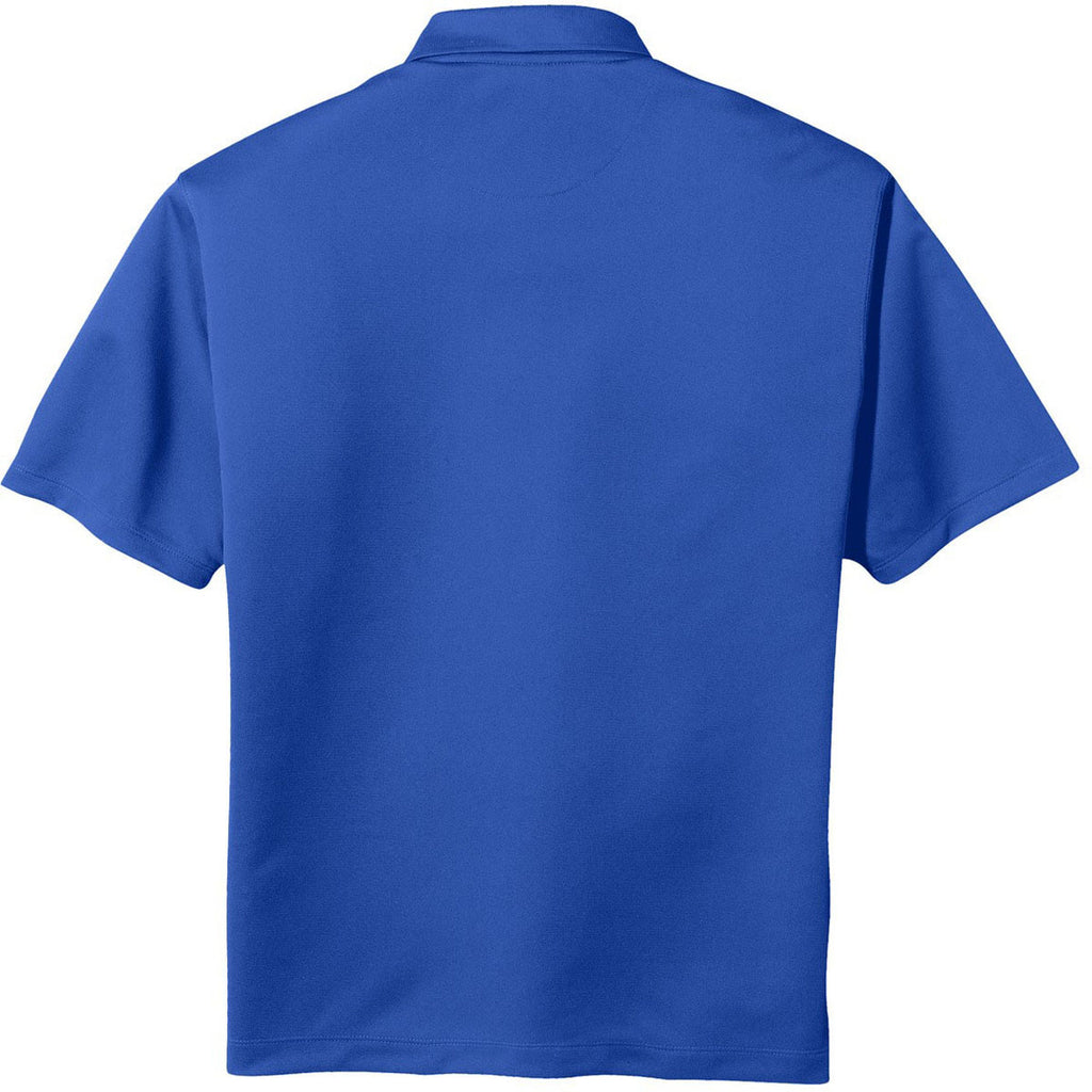Nike Men's Royal Blue Tech Basic Dri-FIT Short Sleeve Polo