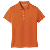 nike-womens-orange-basic-polo