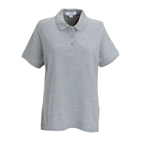 Vantage women 39 s oxford soft blend double tuck pique polo for No tuck golf shirts